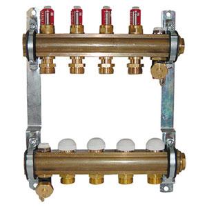 Razdelnik za podno grejanje sa topmetrima – komplet
