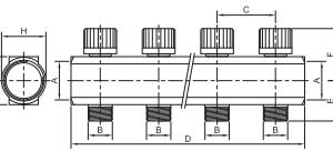 Razdelnik sa ventilima